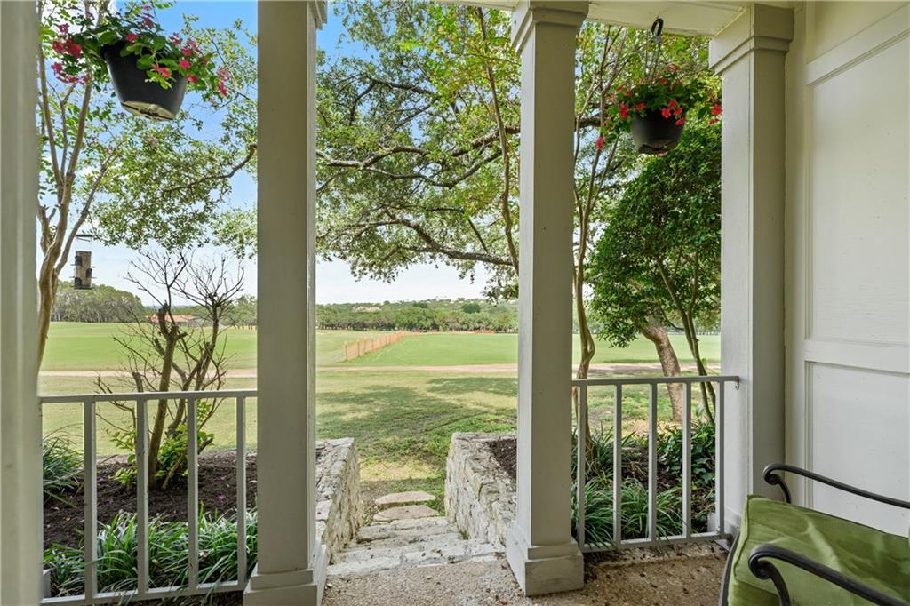 Multiple offers received:  Please submit highest and best offer by Wednesday 8/4 by 6 pm.    Have you been searching for the perfect place to call home?  Look no further!  Enjoy Golf Course and Distant Hill Country Views from your new home.  Just steps from a completely revamped Jack Nicklaus Premier Golf Course, this condo can be a full time resident, serve as a lock & go OR even host guests as a Short Term Rental.  Complete Renovation in the Downstairs, this refreshed Condo is ready to enjoyed by a new owner.