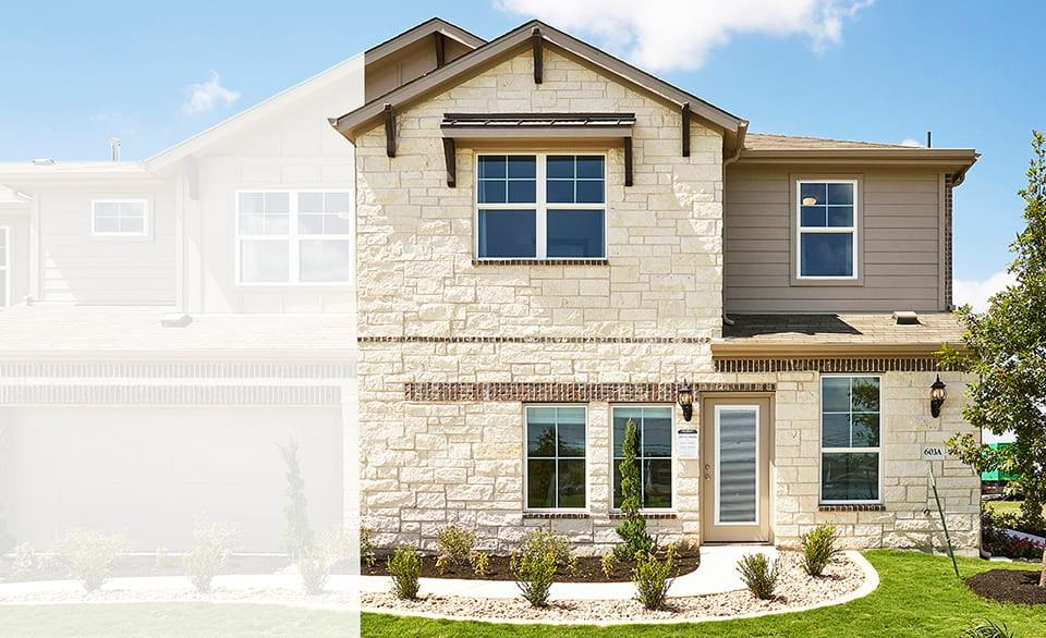 """MODEL HOME! Yosemite F plan with features that include: Brown Cabinets with 42"""" Uppers   Granite Kitchen Counters   Wood Patterned Vinyl Plank Floors   Dual Vanity in Owner Bath and Bath 2   Walk in Owner Shower with Seat   Upgraded Appliance Package. Available NOW!"""
