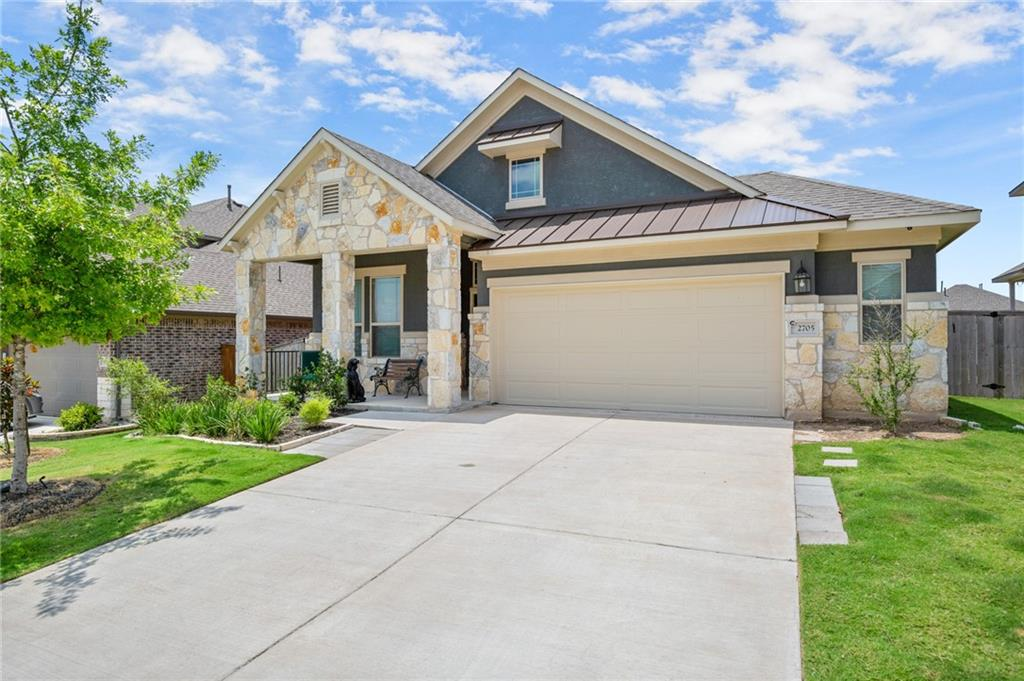 Beautifully maintained 2018 Chesmar 3 bedroom w/Office! Kitchen Island, plenty of counter and cabinet space, stainless steel appliances and open living room/kitchen combo, great for entertaining! Community has pools, parks, trails and ponds! This on is a must see!