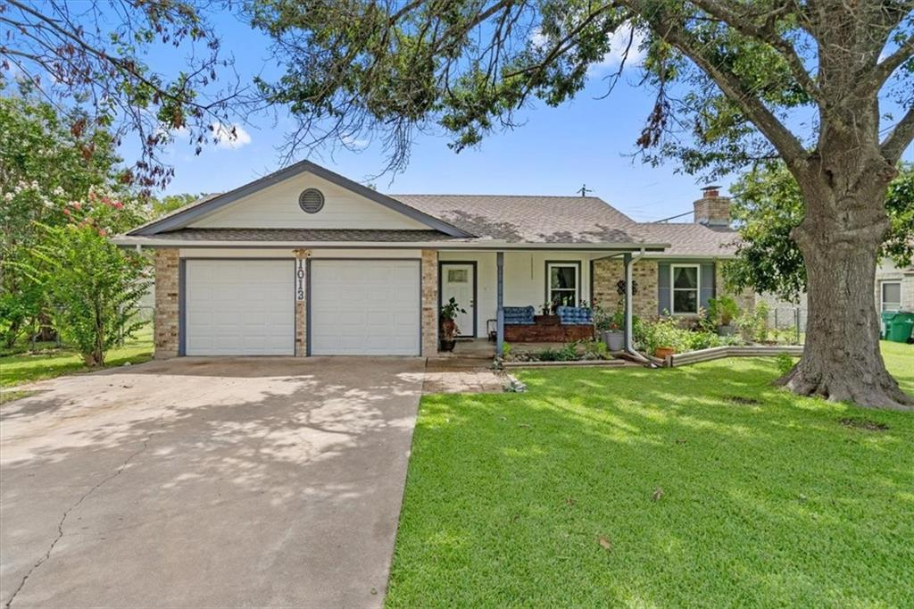 Check out this great home in Pflugerville featuring an open floor plan and plenty of natural light. Relax on the front covered porch or the back patio and relax with your favorite beverage. Plenty of space for gardening and backyard fun!