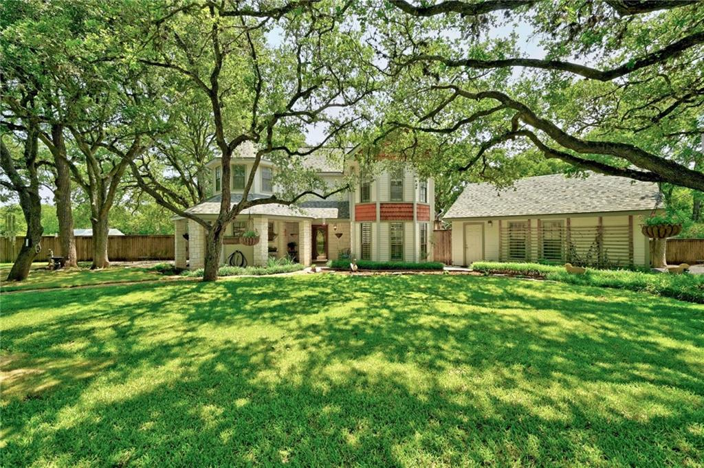 Country living at its best! Beautifully updated and maintained home sitting on 3.28 acres in Hays Country Oaks 2 (1 horse allowed per 2 acres).  The home features wood floors, , remodeled primary bath with a large walk in shower and stand alone tub including a Live Edge Sinker Cypress Vanity.  The kitchen offers Thermador double oven, DCS 6 burner stove and granite counter tops  Outside is a large covered back patio with stone walk ways, wood fired oven along with approximately 1/2 acre of fenced yard to keep the dogs in and the deer out