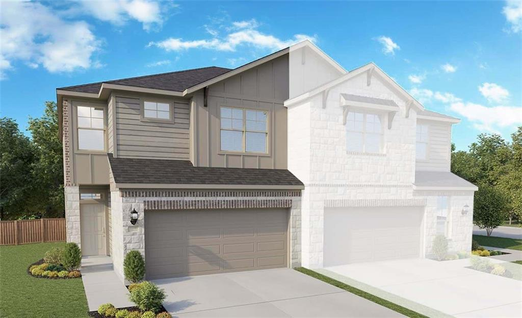 Two Story Acadia Floor Plan with all bedrooms upstairs! Upgraded Appliance Package, Extended Covered Patio, Master Shower Seat & Second Sink, Optional Secondary Bath Layout, Pre-Plumb for Water Softener and Garage Door Opener. See agent for details on finish out. Available April.