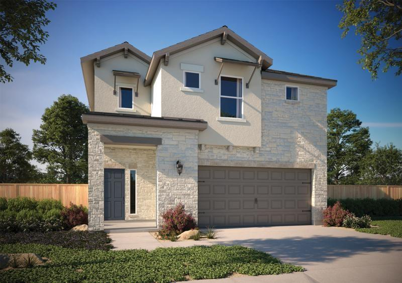 """This brand new home offers a spacious upstairs game room and a covered patio with a gas drop for your grilling pleasure. Open concept in the kitchen dining area, with a large island. Home comes with appliances including microwave, stainless steel finishes, dishwasher, and garbage disposal. Granite counters, 42"""" cabinets, and vinyl plank flooring. This is a home you have to see to believe. Make an appointment today. Milestone Community Builders."""