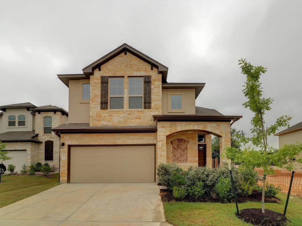 Beautifully Maintained 2017 Milestone-built two-story! Living right off of 1431 you will be mins to endless shopping/entertainment/regional park. A nature lover's dream. This stunning home will greet you with an open concept with a soaring ceiling, wood-look tile floors, a sun-filled living room, and a beautiful kitchen that offers granite counters and stainless steel-type appliances. Enjoy the private owner's suite that is downstairs. Owners bath features a walk-in shower, granite countertop with double sinks, and a large walk-in closet. All other bedrooms are upstairs with a huge game room. Shingles were replaced in June 2021 and recent interior paint.
