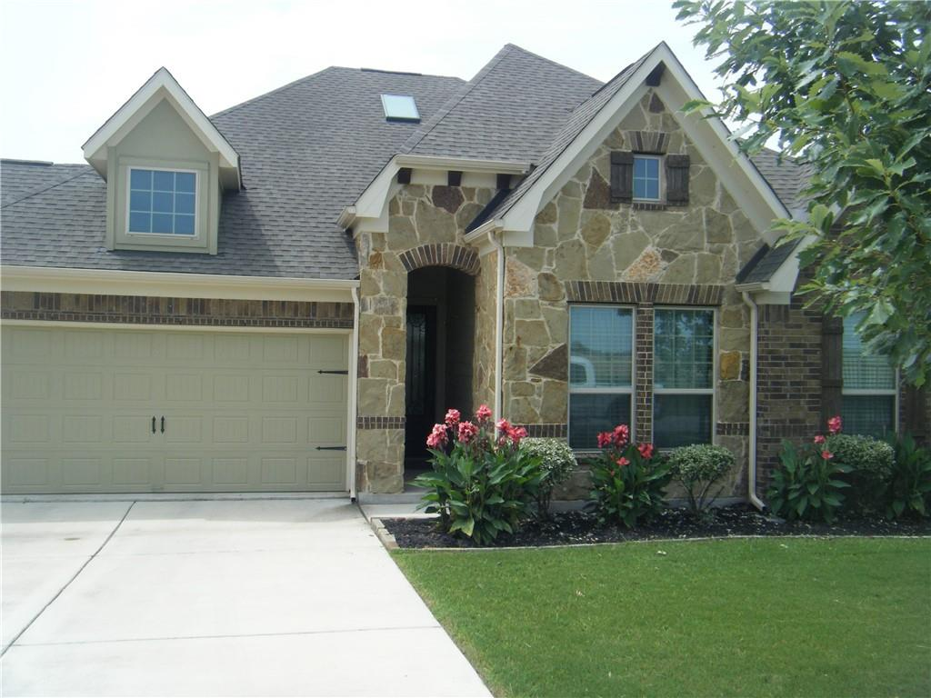 This home has been immaculately cared for and is move-in ready.  It fronts and sides to a green space so it is very private.  No neighbors to the right or across the street. There is a large granite island in the kitchen and wood look tile flooring. The open floor plan includes a family room with a fireplace, separate dining and breakfast areas (dining area has a coffered ceiling).  Please call owner at least one hour in advance for showing.