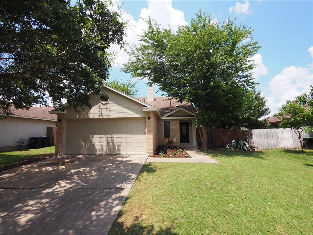 Lovely one story home with wood floors and decorator tile floors, art niches, crown molding.  Pass through to kitchen from formal dining room.  Covered and uncovered patio's allow for the enjoyment of a shaded backyard. Several fruit bearing trees.  A Must See!  See Documents for Disclosures, etc.