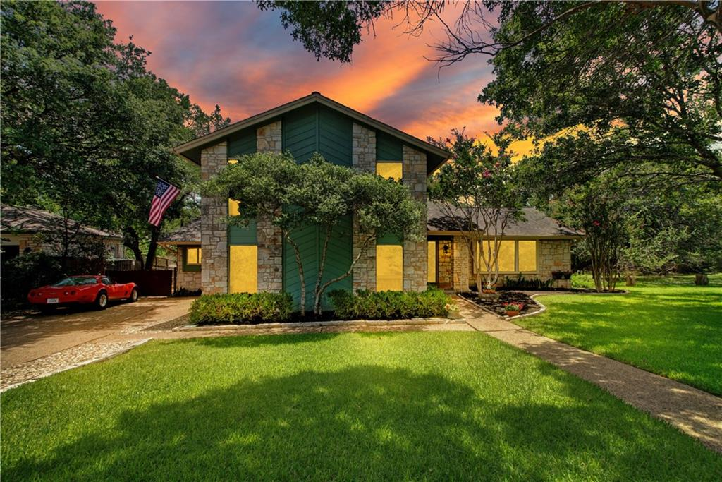 You will be floored by all that this beautiful Shadow Brook home has to offer in one of the most sought after neighborhoods in all of Round Rock. Located in a small, 96 home HOA, this unique home will provide you and your family with a lifetime of memories! Do you love to view wildlife? Check out the photos of the Turkey and Deer that frequent this .64 ACRE property. Love to fish? This creek has tons of Large Mouth Bass, Catfish, Perch, and more! Sit down and stay a while on the huge back deck that is primed for entertaining. Hook up your gas grill to the available stub on the deck and cook for your friends and family. You can gather around the fire pit on a cool Texas night, or have a seat by the creek, and enjoy the soothing babble of the water as you feel the stress melt away. BONUS: This lot is adjacent to the HOA owned 9.5 acres of woods, creek, swimming pool, and tennis courts! All exclusive to this small HOA community! It's like having a huge extension to your backyard! This is an entertainers home through and through. The large front room can be anything you want to make it. It's perfect for a second living, game room, formal dining, or office. Imagine cooking in this open chef's kitchen while gazing out the windows watching your kids reel in some big fish! Need a big mud/utility room? Check that box because this house has it! Take a couple of steps down to the private downstairs master bedroom and soak in the natural light from the wall to wall windows, or peek into the master bath complete with a claw-foot tub and separate shower. Look at that antique custom vanity! Want more? Head upstairs to find 3 large bedrooms, 2 full baths with a Second Master Suite! This neighborhood has some of the best access to all thoroughfares in the city to commute to work, the airport, or a day trip out of town. All 3 level schools in the neighborhood, fire station, St. David's Hospital, great restaurants, and 5 minutes from Downtown Round Rock. It's all here!