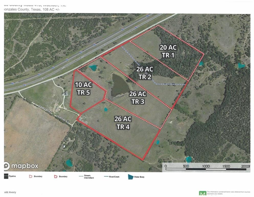 Beautiful 23.4 acre tract off of IH-10 at Exit 649 (Waelder Exit). Perfect for running a few head of cattle and/or horses. Some good sites for your custom home, too. Aerial view of property is included in pictures and in and in additional docs. Currently Ag Exempt. Leased for cattle. Call agent with any questions