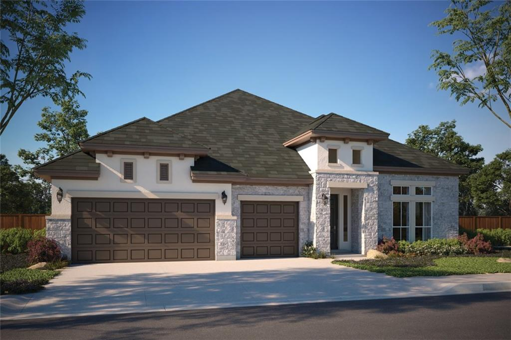 """Impressive 14'ceilings from entry to living area, with windows galore. Kitchen features double SS ovens, 36"""" cooktop, 42"""" Kent Moore Nebulous Gray cabinets, Aspen White granite countertop, and 3x6 white subway backsplash. Living area features 10' slider doors, walking out onto an extended covered patio, fireplace with built in cabinets. Wood flooring throughout. Bay window in Owner's Suite. Mudroom bench. Gated boutique community, luxury pool, clubhouse & playscape, 15+ acres of parkland. M Signature."""
