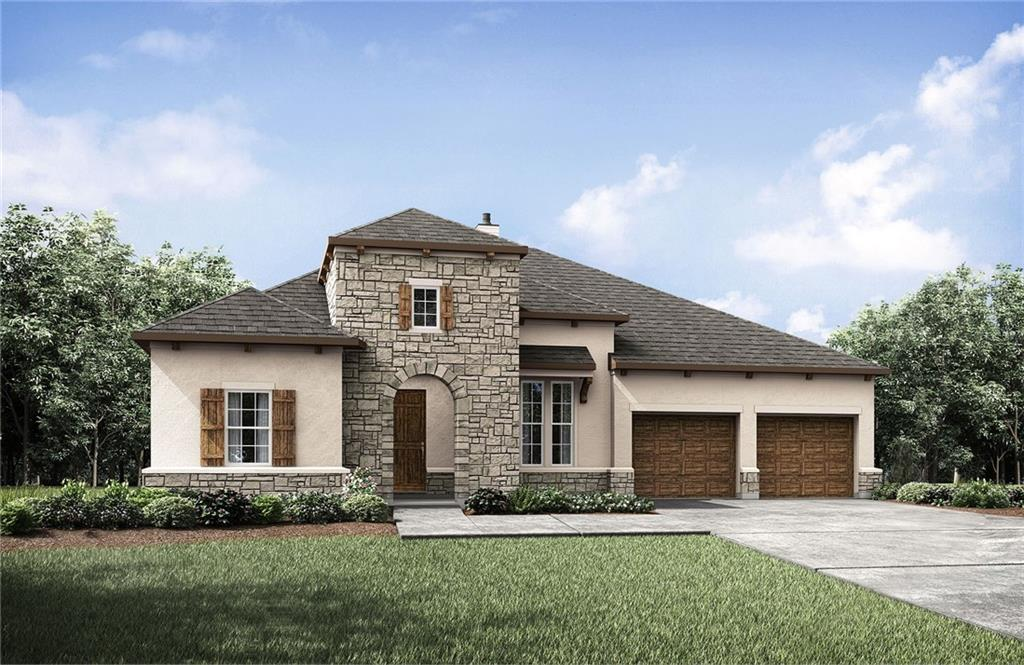 Gorgeous single story Tinsley plan by Drees in the scenic acreage community of Northgate Ranch!