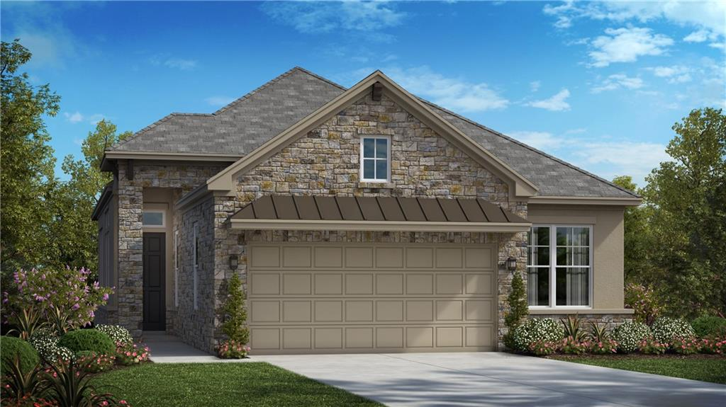 """Our Avesso floorplan is a single story Luxury Garden Home offering 1,745 sq. ft. including 2 bedrooms, 2 full baths, study, and an oversized covered patio perfect for entertaining guests! This open concept home features 12' ceilings, beams in the main living areas and master bedroom, and upgraded hardwood flooring throughout the main living areas.  Oversized Master Suite a large frameless walk-in shower, separate vanities with knee space, and HUGE master closet. Laundry room includes cabinets and folding area.  The kitchen includes upgraded countertops, 42"""" painted cabinets, stainless steel built-in appliances with 36"""" 5 burner gas cooktop, and many designer touches throughout.  HOA does yard maintenance."""