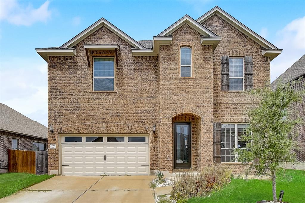 Built in 2016, this Pflugerville two-story home offers a patio, granite countertops, and a two-car garage.  This home has been virtually staged to illustrate its potential.