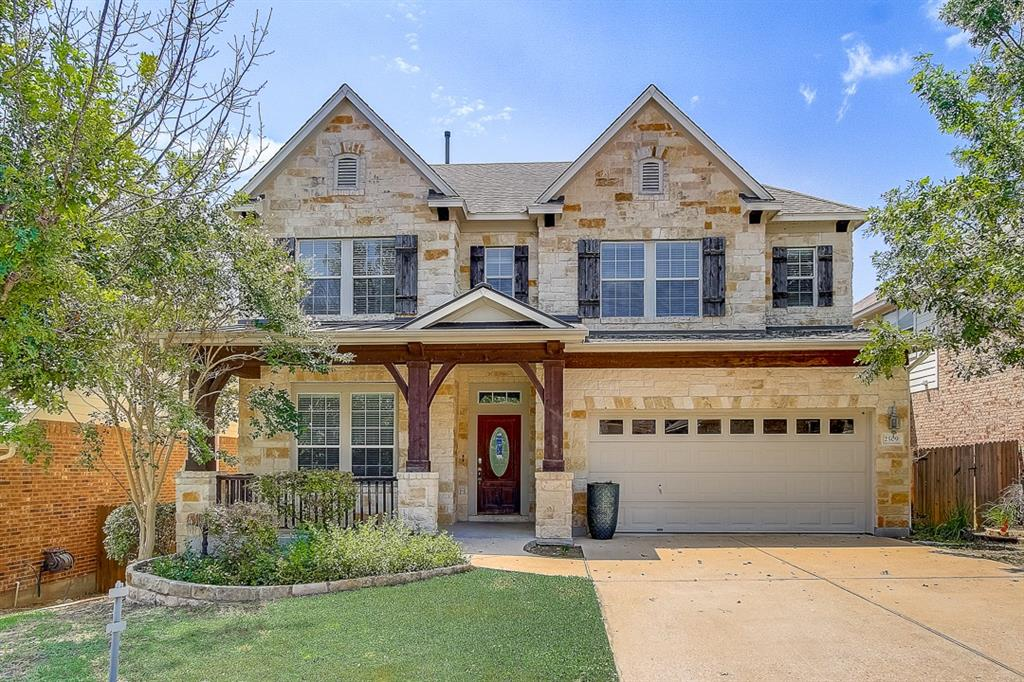 This Austin two-story home offers granite countertops, and a two-car garage.