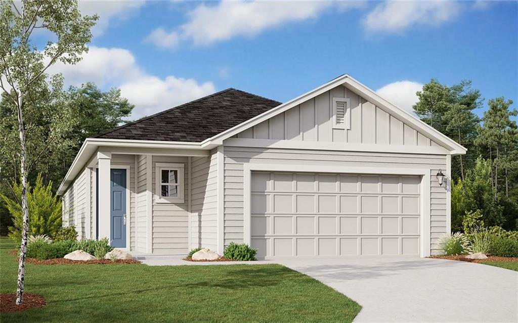MLS# 5624906 - Built by Dream Finders Homes - March completion! ~ Great home with 3 bedrooms, 2 full baths, and large covered patio. Open floor plan with stainless steel appliances, finished garage, 3 –panel exterior sliding patio door, full yard sod and irrigation, water softener loop, 8 ft interior doors, Upgraded Level 4 8ft Exterior front door, 9 foot ceilings, garage door opener and more! This home is a must see with tons of structural upgrades and won't last long.. Leander school district.