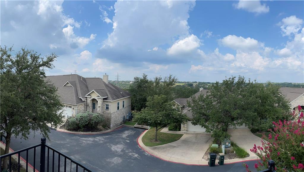 Enjoy the amazing greenbelt views from the primary bedroom balcony! Townhouse style lock and leave gated community in highly sought after Northwest Austin just minutes from the Arboretum & Domain. Living area has vaulted ceilings and a gas log fireplace. The second floor has 2 complimentary bedrooms with adjoining Jack and Jill bathrooms. Separate sink and vanity for each bedroom with a shared garden tub and freestanding shower. Enjoy your morning coffee or an evening glass of wine on the second floor balcony while you take in the beautiful greenbelt views. Home has lots of natural light. The kitchen features a breakfast bar with granite countertops and a large pantry.  Private backyard with a storage closet, patio and privacy fencing backed by trees. New carpet and paint in 2020. Community pool, hot tub and pavilion located behind building #1.* Trash, water and sewer are all included in the monthly HOA dues.