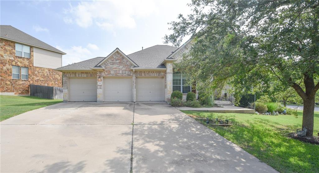 This marvelous property is located by UT Golf club, Canyon Ridge Middle School, and Mansfield Dam Park. Upon entry to this grand home you will see a formal dining and living area to your right. Further in you will see the secondary living room with a lighted ceiling fan, and direct access to the backyard. It has large windows for natural lighting and views the backyard. The kitchen has all stainless steel appliances with double set oven, recessed lighting and a breakfast bar with custom light fixtures. There is ample cabinet and counter space. The main bedroom is secluded from other guest rooms. It has carpet flooring, a lighted ceiling fan and an ensuite. The ensuite has a double vanity a luxurious garden tub and stand alone shower. It also has two massive closets. The backyard has an exquisite deck with a breathtaking view of the backyard where there is still plenty of room for outdoor activities. Do not miss out on this great home, so schedule your private tour today!