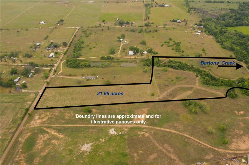 Exceptional Deal!! Ideally located just off of Highway 71 outside of Smithville and only an hour from Austin, this special property offers many possibilities for ranch, recreation or even light industrial uses. Ideal for skeet or clay shooting! A unique feature of the tract is the abundant water supply. Barton's Creek forms the eastern boundary of the track and a second creek fed by a natural spring separates the two coastal pastures. Both have water year round and attract a variety of wildlife including deer, small game, beaver, water fowl and migratory birds. Native plant species include pecan, oak, sycamore, elm, cedar, dewberries and countless other flowering plants. The land is currently ag-exempt and was once part of the historic Primm farm. Enjoy exceptional practical and recreational values while experiencing the sights and sound of this Central Texas land.