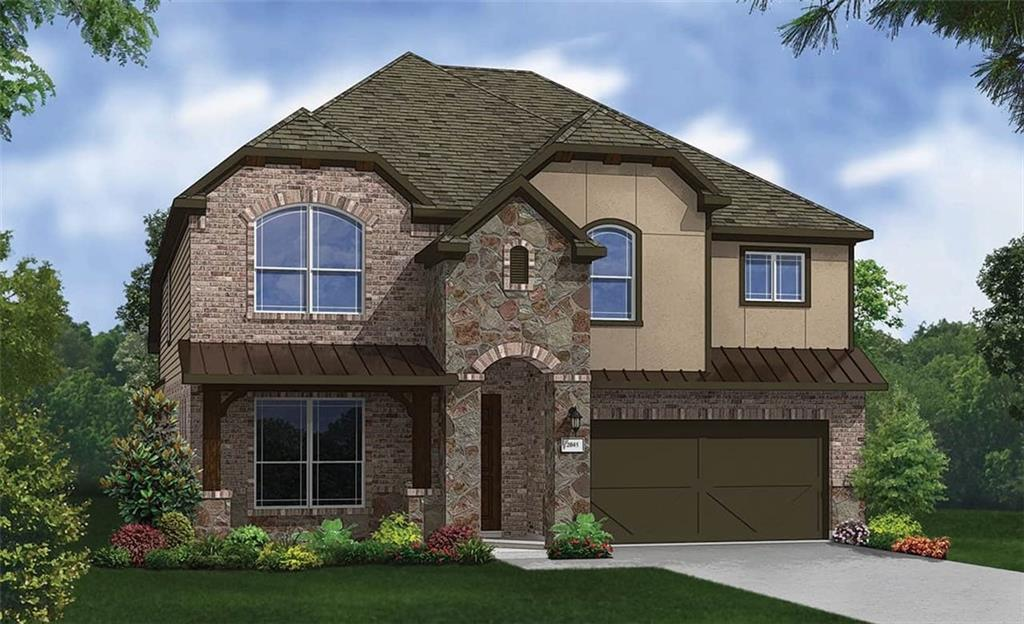 Due to supply chain issues, some options and selections may be substituted or revised. Must verify all options and details with builder representative. Magnolia floor plan with features that include: 4 Bed and 3.5 Bath | Game Room | Study | Cul De Sac Lot on Green Belt | 2 Story Family Room | 11' Ceilings | 8' Doors | Fireplace | Master Bay Window | Extended Covered Patio | Wood Floors. Available February.