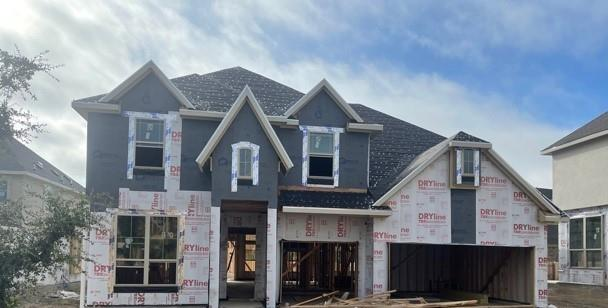 Due to supply chain issues, some options and selections may be substituted or revised. Must verify all options and details with builder representative. Beautiful Dartmouth plan with features that include: 4 Bed and 3.5 Bath   Game Room   Study   8' Doors on Main Floor   Large Covered Patio   Full Gutters   Gas Drop on Patio   Large Kitchen Island   Open Floor Plan   Cul De Sac Lot. Available March.