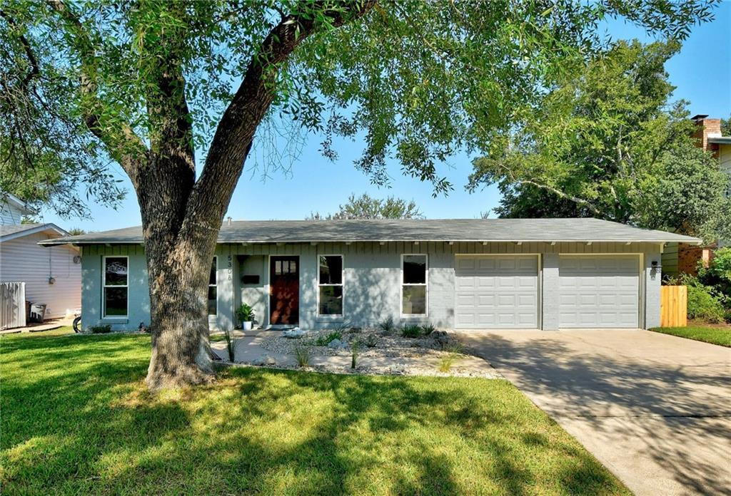 Oh so incredible central South Austin! This is that neighborhood you've been keeping your eyes on! Thoughtful renovations include full kitchen remodel, roof 2021, baths, floors, paint, windows and so much more! Home chef's kitchen is spacious and open and overlooks picture-perfect backyard setting. Green space behind the house for oasis-like privacy! Covered patio for those cool morning coffee sits or evening or weekend bevvies with friends. Generous primary suite tucked into the quiet back of the house! two just right living rooms that you'll actually use on the daily. Giant mudroom, just think about what else you can do here. Deck it out with builtins, hobby space, of spot for your dirty puppy to clean up before coming inside. Gorgeous interiors with wide plank floors, cool fixtures and just an all-around elevated homey kind of feel. moments away from radio coffee, central market, downtown, and all of your favorite Austin hotspots! Seriously, come see this one right away! You won't be disappointed!
