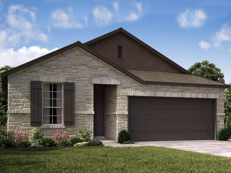 Brand NEW energy-efficient home ready 2022! The Rio Grande's sprawling single-story layout features a bright, open concept living area, dining space, and kitchen. The primary suite boasts a sizeable walk-in closet and optional dual sinks. Amenities will include an amenity center with a pool, splash pad and playground, plus trails with connectivity to the adjacent Founders Memorial Park. Schools located in award-winning Dripping Spring ISD. Known for their energyefficient features, our homes help you live a healthier and quieter lifestyle while saving thousands of dollars on utility bills.