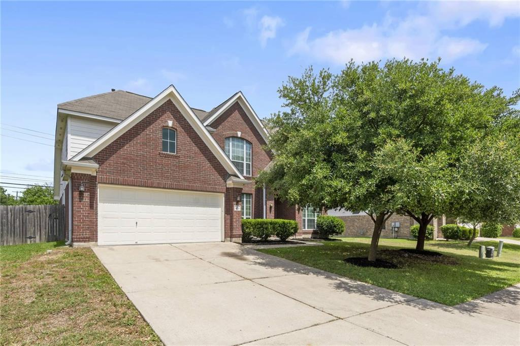 This gorgeous home is in highly desirable Round Rock, close to shopping, dining, with easy access to the highway. It features recently installed upgraded hard tile, Corian Countertops, Recent paint throughout, recent carpet, Master Down, Formal Living and Dining, Huge Gameroom upstairs with a Wet Bar, large storage closet, and More! Hurry won't last long!