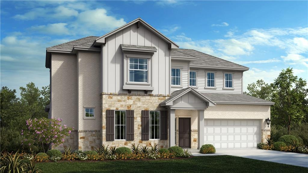 The Driftwood Plan features 5 Bedrooms, 4 Baths, Gameroom and Media Room.