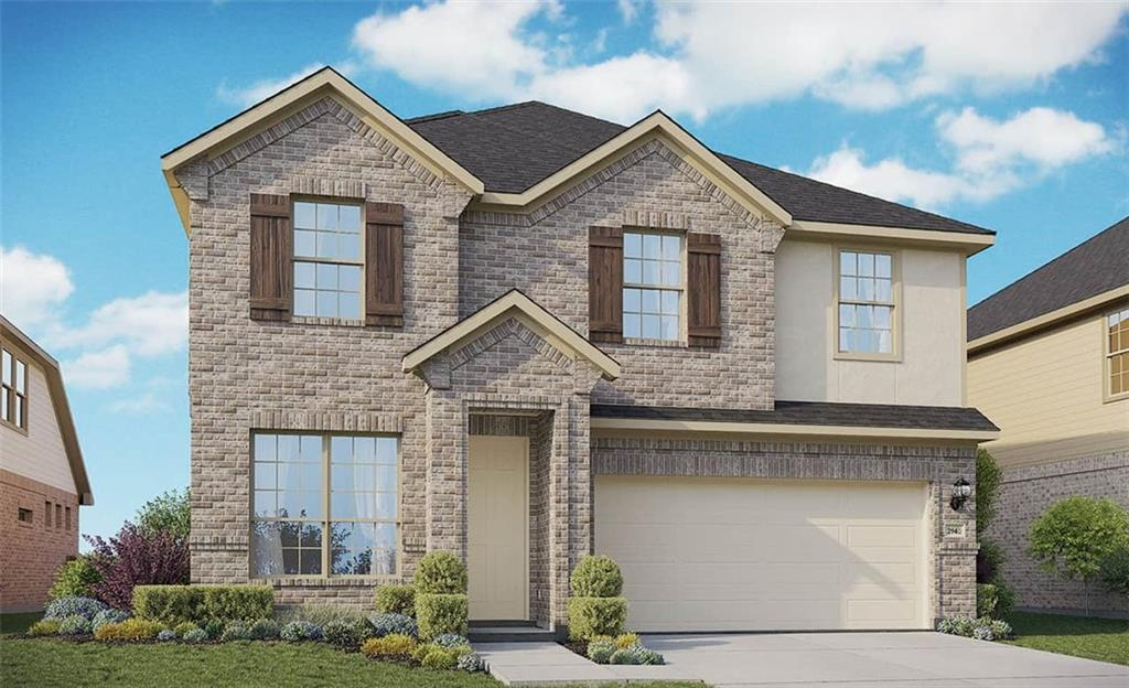 Two Story Capri Floor Plan Featuring Family, Study, Game & Media Rooms. Exterior Stone Accents, Upgraded Kitchen, Granite Countertops, Custom Tile Backsplash, Covered Back Patio, Full Sprinkler/Sod in Front & Rear Yards. See Agent for Details on Finish Out. Available January.