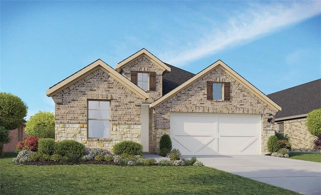 Single Story Fiji Floor Plan with Family and Study on Oversized Corner Cul-de-sac Homesite! Added Nook Buffet Cabinets, Enlarged Primary Shower with Garden Tub, Granite Countertops, Custom Tile Backsplash, Covered Back Patio, Full Sprinkler/Sod in Front & Rear Yards. See Agent for Details on Finish Out. Available January.