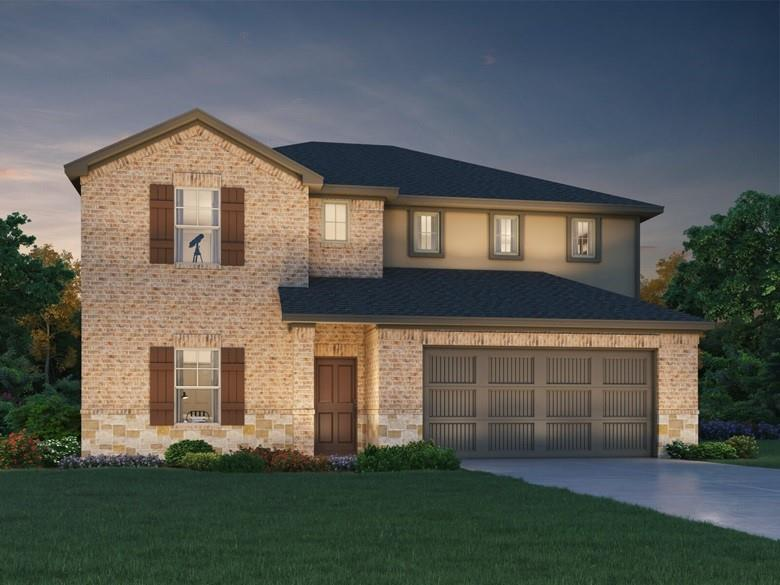 Brand NEW energy-efficient home ready November 2021! Breakfast bar in large kitchen, main level primary suite, impressive upstairs game room and five full bedrooms. Stone cabinets with ice white quartz countertops, cool grey EVP flooring with greyish brown carpet in our Distinct package. Deerbrooke community is within a 4 mile radius of easy access to 183A, shopping and so much more! Fantastic Leander ISD schools! Known for their energy efficient features, our homes help you live a healthier and quieter lifestyle while saving thousands of dollars on utility bills.