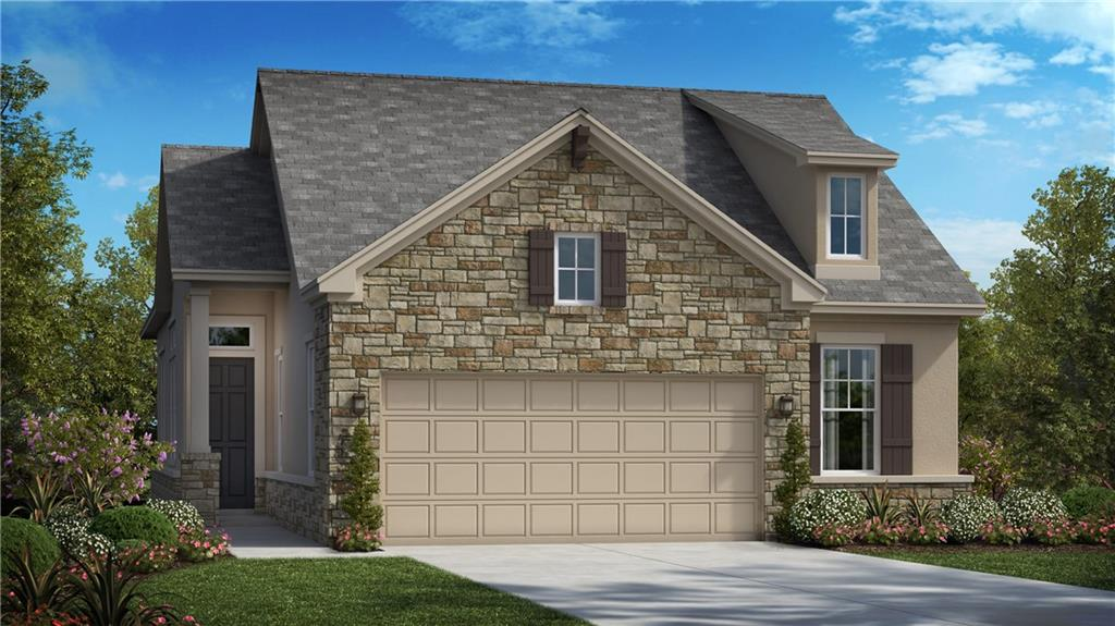 """This beautiful Avesso plan in our Prestige Collection is 1,862 sf and includes 2 bedrooms, 2 baths, a home office, plus a Texas Basement (18'x16' unfinished storage area). The Master Suite offers an oversized walk in shower and spacious closet. The family room is open to the kitchen and dining and features 12' ceilings with gorgeous beams. The home also features upgraded 42"""" cabinets, quartz countertops, built-in stainless steel appliances, and hardwood floors.  The home is located in the Lock-and-Leave section of Ventana in the award-winning Santa Rita Ranch community and gives you access to the $14MM worth of amenities…plus the HOA maintains your yard! The quality construction includes; 12' ceilings and 8' doors throughout, 4 sides masonry, Zip System sheathing, and much more. To top it off for your outdoor enjoyment and relaxation there's a large covered patio!"""