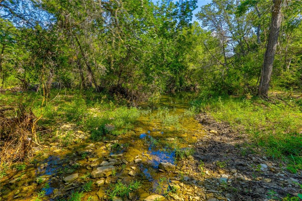 Own your own gorgeous piece of the country with this 13+ acre tract that backs to a creek! This beautiful lot has a lovely spot to build your dream home, and enjoy the peace and quiet of the country. Bring your horses or other animals! You will still be less than an hour from Austin, yet minutes to Georgetown and Leander/Cedar Park for all your shopping, medical, and business needs. Additional tracts are available. Owner/agent.