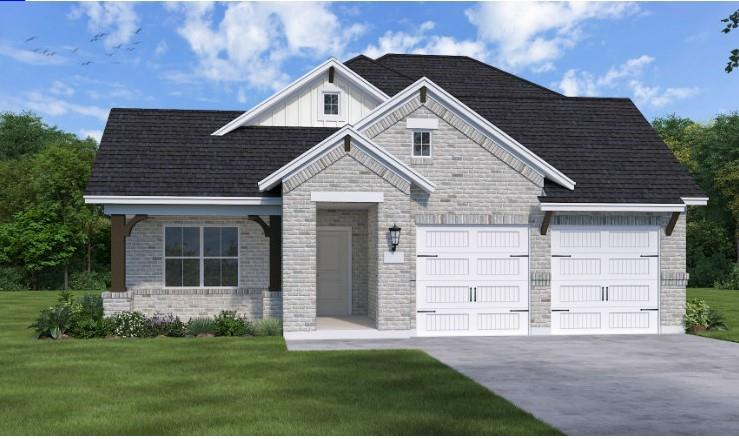 """This home with 12' ceilings will impress.   Gourmet kitchen with 42"""" gray cabinets, oversized quartz countertop island and stainless steel appliances. Study, sunroom, master suite and two secondary bedrooms all on the first floor with game room up."""