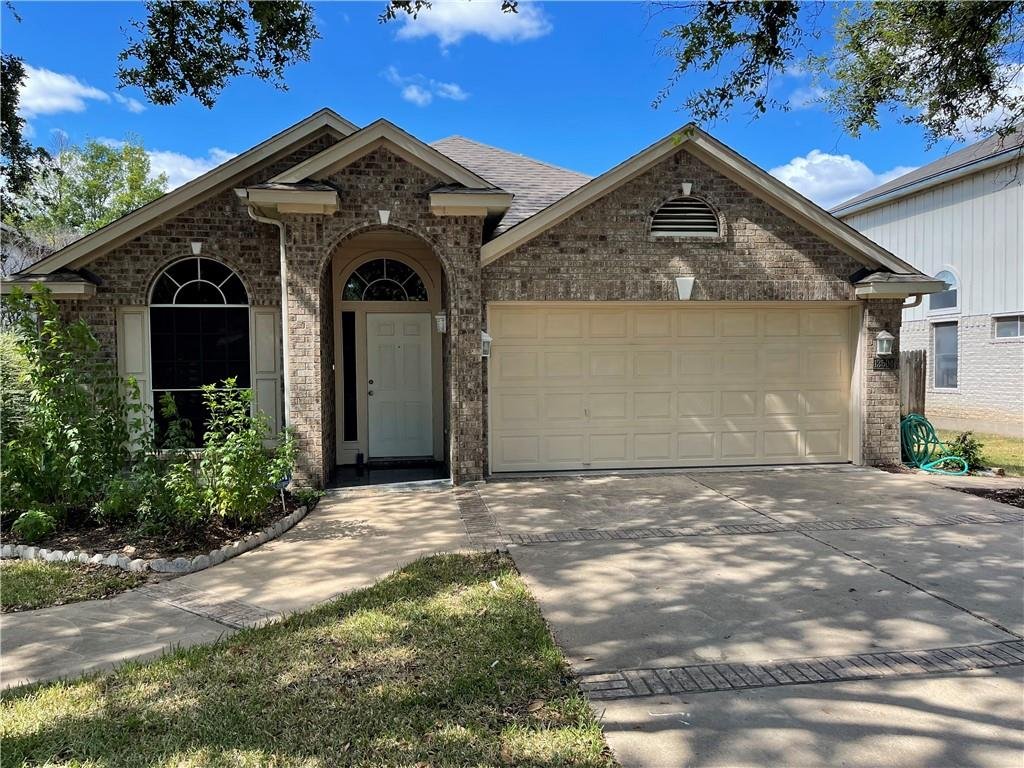 Former model home with many features.  Great location in the The Bluffs at Milwood subdivision located just off Parmer Lane and Anderson Mill Road near new Apple Campus and other major employers.  Easy access to 620/183/45 and MoPac.  New A/C just installed. Great location!!!