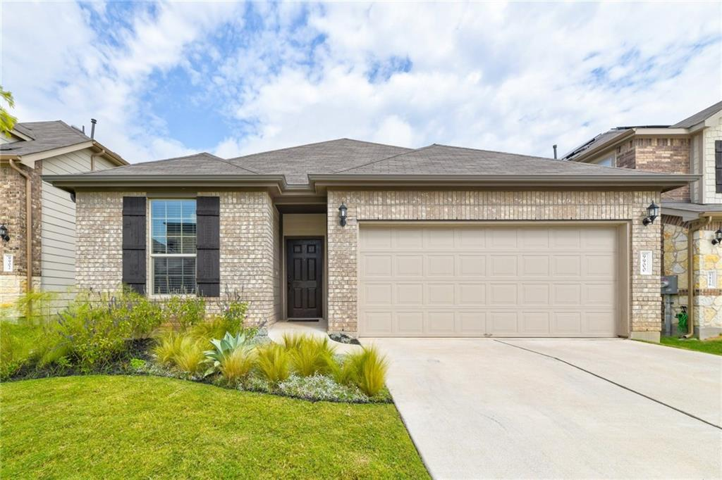 This home is a real gem, like new, located in the highly desirable Parmer Crossing at Lakeline with low HOA dues. Minutes away from Lakeline Mall, grocery stores, major retail, Austin MetroRail, the Dell and Apple campuses, plus all the tech and industry in the Domain. Easy access to Hwy 620, Mopac (Loop 1), and I35. This community is zoned to the acclaimed Round Rock ISD. This beautifully well-maintained home features 3 bedrooms plus a dedicated office. Every space is well designed with open floor plan, large modern kitchen, high ceilings, natural light throughout the rooms. Upgraded kitchen with 42'' cabinets and huge island, modern Quartz countertops with upgraded backsplash and pendant light fixtures.   Lots of storage space with walk-in closets. Main suite is a dream with spa-style walk-in shower and dual vanities. Energy efficient cooling/heating. Large backyard with covered patio and sprinkler system throughout.