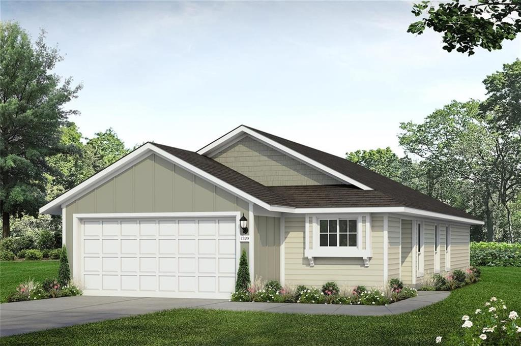 MLS# 1047781 - Built by Brohn Homes - December completion! ~ This 2 bedroom, 2 bathroom home is located across from Jarrell Highschool. The primary bedroom is tucked away in the back of the home separate from the secondary bedroom.