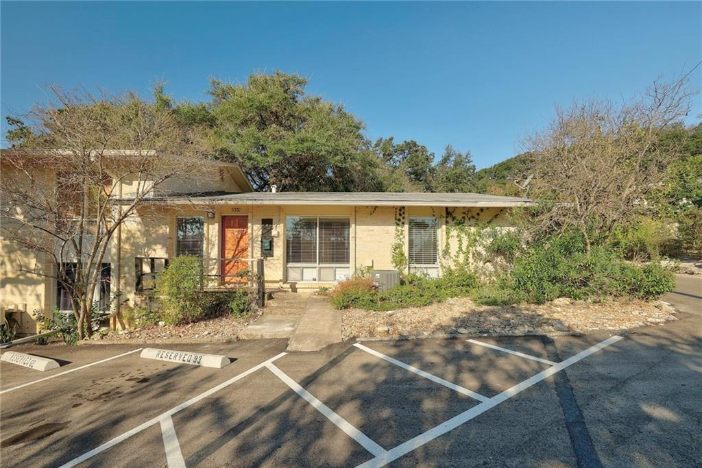 Beautiful Single Level End-Unit Condo Centrally Located 2br 2ba 1180sqft ::: Highland Park West is a 4-Acre Community w/ Courtyards, Mature Trees & Pet-Friendly areas. Also, a gated Saltwater Pool and walking distance to Russell's Bakery, Starbucks, Randalls Grocery and much more :)  Bright and open floorplan w/ Recessed Lights, Wood Floors & Quartz Countertops * Bosch Appliances * Private Back Patio Space just steps away from the Pool * HOA maintains the exteriors, landscaping & grounds, provides water, sewer & garbage removal * Please use North American Title/Margaret Liebes * Listing agent has an interest and is a Texas real estate license holder.