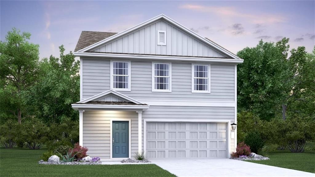 MLS# 2511406 - Built by Lennar - February completion! ~ Ridley plan with our A elevation in our brand new Cool Water community!