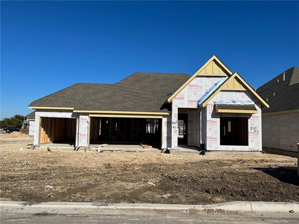 Single Story Oleander Floorplan Featuring: enlarged closet for 3rd bedroom, gourmet kitchen with upgraded appliances, full gutters, extended covered patio, mudset tile shower pan in master bath, study with French doors. Available January.