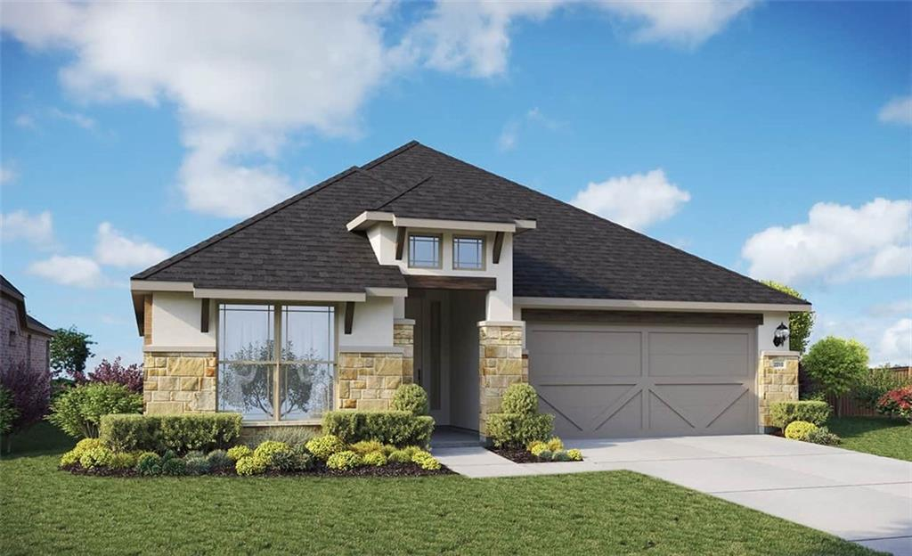 Single Story Oleander Floorplan Featuring: 11 foot ceilings, 8 foot doors, built in appliances, covered patio, gas drop on patio, full gutters, upgraded flooring, cabinets, tile and carpet. Available January 2022.