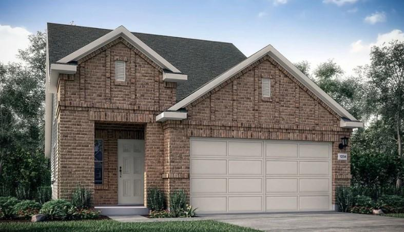 MLS # 9898942 ~ REPRESENTATIVE PHOTOS ADDED. September 2022 Completion! ~ This two-story home offers a secluded first-floor Owner's Suite at the back of the home complete with walk-in closet, large bath with dual vanities and dedicated linen storage. Enjoy a contemporary kitchen, open to the dining and Great Room, perfect for hosting friends and family. Stainless Steel appliances, a quartz kitchen island and a walk-in pantry complete this kitchen. The laundry room is conveniently located as you enter from the two-car garage. On the second floor, discover two secondary bedrooms, full bath, linen closet and a Bonus Room providing space for additional needs such as a home office. Structural options added at 105 Breccia Trail include: pre-plumb for water softener, covered back patio.