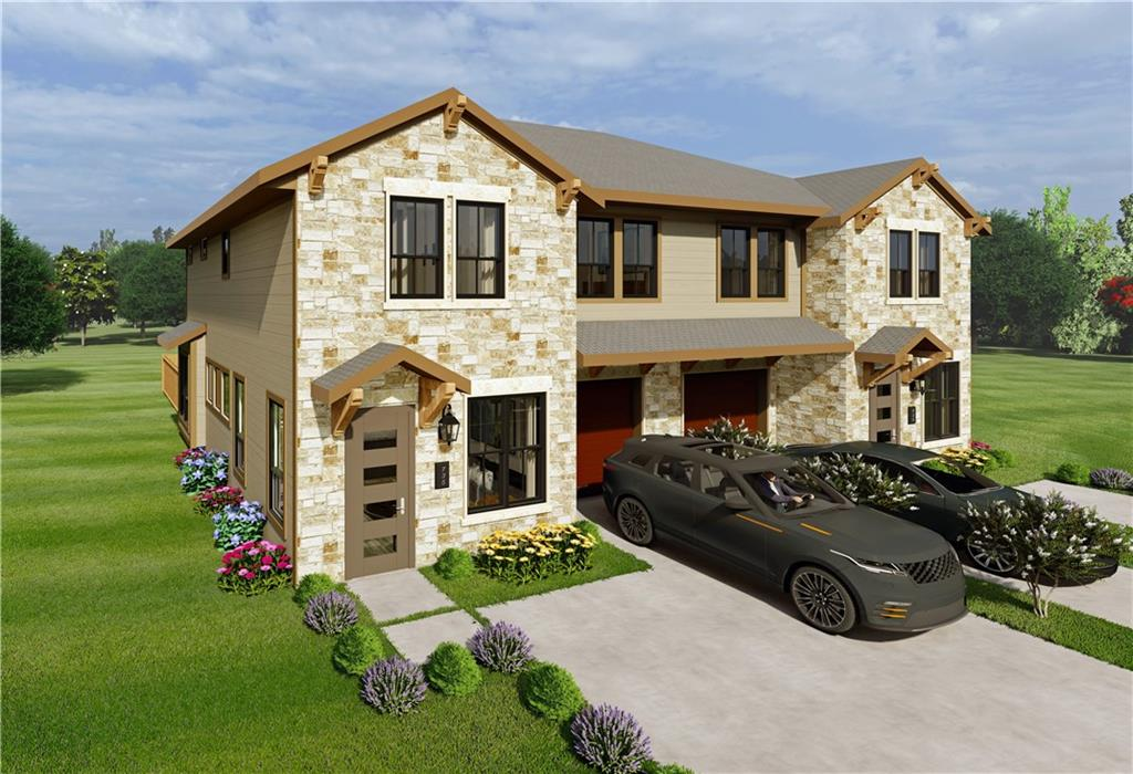 Pine Street Villas is a premier community of 16 thoughtfully and environmentally designed twin homes. Located in the heart of Georgetown at the intersection of Pine Street & 17th Street, Pine Street Villas are surrounded by an established single family neighborhood, as well as many close-by local retail, restaurant, entertainment, and employment centers. It is within 1 mile of downtown Georgetown, within 2 miles of the Interstate I-35, and within 3 miles of toll road 130, with easy access to everything, including ABIA airport and downtown Austin. Units start at 1656 SF, 3 bedrooms, 2.5 baths, large Master suite, 1 car garage, private fenced yards. Fall 2021 delivery! Owner occupied buyers only, please.