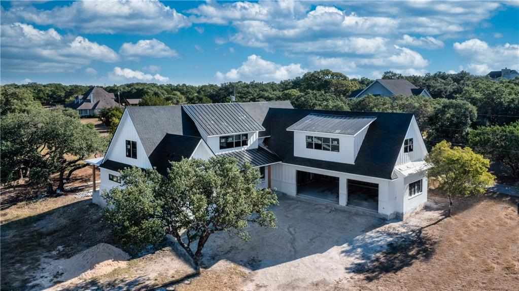 """AGENTS, DO NOT SEND YOUR CLIENTS TO VIEW THIS HOME WITHOUT YOU. THIS IS AN ACTIVE CONSTRUCTION SITE. PLEASE TEXT ME PRIOR TO SHOWING YOUR CLIENTS. BUILDER IS ON SITE MOST OF THE TIME. Thank you! You will find this one of a kind custom home in the neighborhood of Sunset Canyon in Dripping Springs. A Dale Green original custom that is built with pride and detail that your buyers will notice more and more as the building process continues. The home located on this hill country homesite is estimated to be completed in early December. The builder has selected to build this home with high end features such as 2X6 framing, spray foam insulation, two 17 seer TRANE® HVAC units, Thermador® appliance package, 54"""" built-in refrigerator/freezer, wine refrigerator, full PREP kitchen with a sink and an extra dishwasher within an oversized pantry, and also an oversized laundry room/mud room with a sink, hardwood floors throughout, and tile in wet areas, no carpet, black framed interior and exterior windows, and custom 10 foot wide steel front door, pre-wired for an electric car charger, pre-wired for a security system with cameras, down stairs and upstairs washer/dryer hookups, and room for a pool, just to name a few... The builder carefully planned this specific floor plan to be able to keep all the Oak Trees on the lot. This location has the best of so many things...you can be apart of the small town charm of Dripping Springs, one of the best independent school districts in the state (DSISD), only 10 minutes to the new Belterra Village Shopping Center, more commercial projects are being built right now, restaurants, stores, businesses, and still only 30 minutes from Downtown Austin!"""
