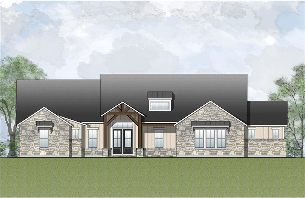 Beautiful Channing II plan by Drees in the scenic acreage community of Clearwater Ranch!