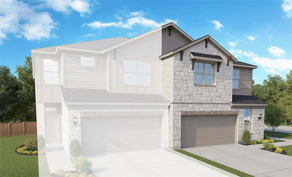 """Due to supply chain issues, some options and selections may be substituted or revised. Must verify all options and details with builder representative. Yosemite plan with features that include: 42"""" Upper Cabinets Painted Gray   Stainless Steel Gas Appliances   Wood Patterned Vinyl Plank Floors   Walk in Primary Shower with Seat   Dual Vanity in Primary Bath   Extended Covered Patio. Available June."""