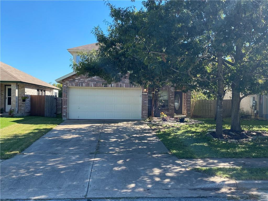 Home with nice floorplan with deck overlooking greenbelt. Family neighborhood with great location. Walk to Leander High School. Great opportunity to join this neighborhood at this price.