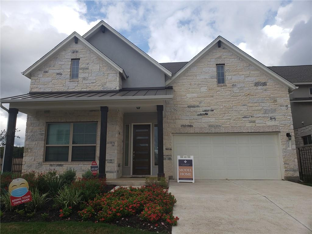 Model Home for sale!  Lots of upgrades and unique details, from its designated mudroom and walk-in utility room to its formal dining room and expansive kitchen island. The first-floor master suite stands out within the space, with a private entry, tray ceiling, standalone vanities, and an expansive two-door walk-in closet to accommodate any sized wardrobe. Ascending the half landing staircase, all three secondary bedrooms open to the game room, each has a walk-in closet—one with an en suite bathroom—an ideal layout for multi-generational families.   Award winning school district. Don't miss the opportunity to live in a park.  Community located between 2 parks.  Pool, playscape area and more in community.