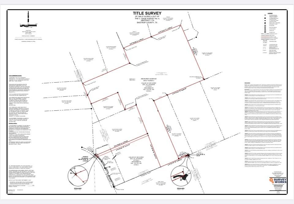 There are a total of 25 lots that are in presale offering at 30K per acre. These are only presale prices while roads are being installed and the entrance completed. The lots vary in size from 10 to 30 acres and vary with heavily wooded for more privacy or cleared grassy areas over the 290 acres available.  Well and septic companies have been identified to reduce move in time at the buyers expense. Lots must be surveyed by the buyer based on the size and location of the lot or lots selected. Blue Bonnet Electric will be setting poles as soon as roads are completed or hook-ups needed. All lots will have paved road to the entrances.  There will be a 1 1/2 mile circle drive with both inside and outside the circle lots available. Great for hiking, jogging or cycling, No mobile homes or double-wides manufactured homes allowed. Barndominiums must be off set to the rear 1/3 of the lot and only on outside lots