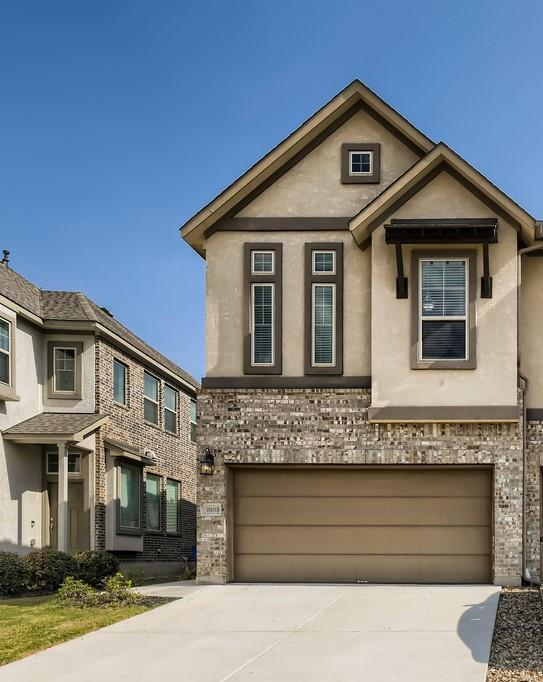 Be impressed by this quality 3 bedroom, 2.5 bathroom condominium that is full of amazing features! Immediately upon entering, notice the two bedrooms located on the first floor before making your way up the stairs to the second floor. The living room welcomes you in with its numerous windows, unique tile flooring, and easy access to the kitchen and dining area. This large kitchen will have you feeling like a chef with its spacious granite countertops, gas stovetop, sleek cabinetry, and stainless steel appliances! Relax on the second-floor balcony that looks out at the yard that would be perfect for gardening, or your pets if you have any! In the primary bedroom, you will find high tray ceilings, a cozy window nook, and an en suite bathroom that comes with a large shower, and walk-in closet! Conveniently located near parks, waterparks, and is just a short 6-minute drive away from grocery stores and restaurants!