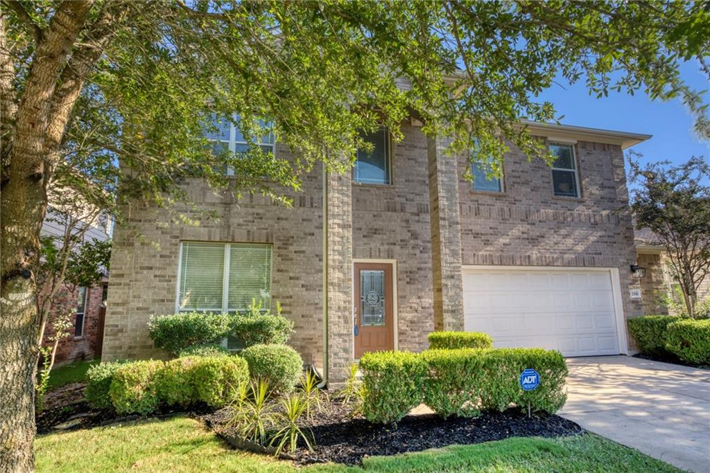 Priced very well for the amount of tasteful & current upgrades. This beautiful Pflugerville home brings new wide plank engineered white oak wood flooring on the main floor & new carpet on the 2nd floor. The Primary suite has an oversized shower with dual shower heads, there is a dedicated office, a flex space and best of all a newly remodeled kitchen with a new stainless steel appliance package and a refrigerator that stays! Enjoy the recent neutral interior paint, quartz countertops, gas fireplace, clean garage with painted floors, covered patio, new roof, decent sized yard and more! This Falcon Pointe location is convenient and close to shopping, dining, and major roads and your kids can walk to highly rated schools and nearby park.  This home has a lot to offer and is a must see and a great buy!!